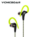 Original Wired Ear Hook Headphones Fashion Sports Running Earphones Quality Stereo Music Headsets with Microphone for