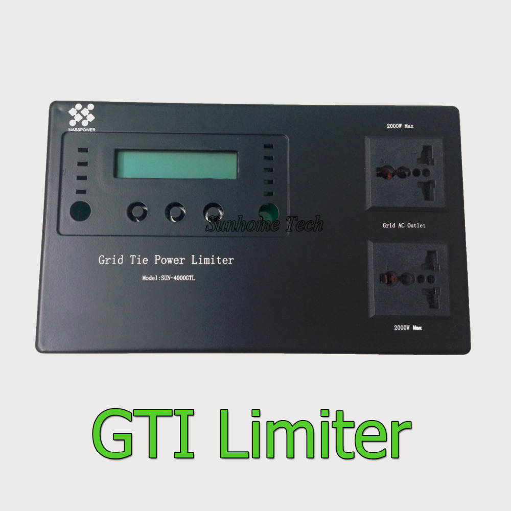 solar grid tie power limiter prevent extra power to grid for SUN series grid tie inverter 500/600/1000/1500/2000W(China (Mainland))