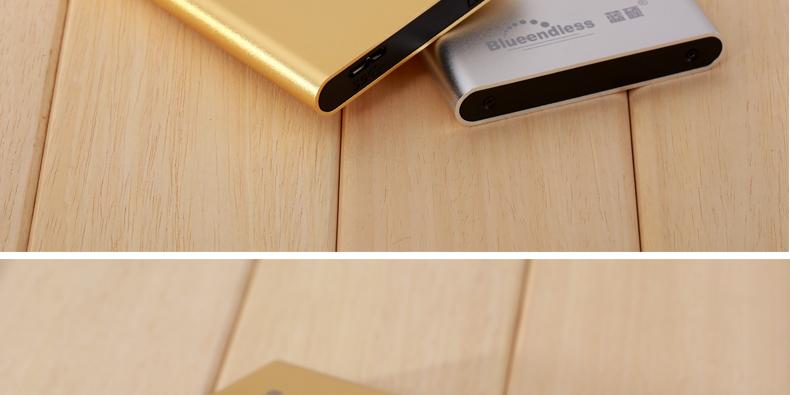 ถูก Blueendless USB 3.0 External Hard Driveดิสก์500กิกะไบต์HDD Externoดิสโก้HDดิสก์อุปกรณ์จัดเก็บข้อมูลที่มีบรรจุภัณฑ์ค้าปลีก