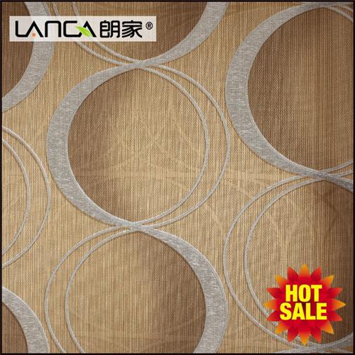 3 D abstract geometric wallpapers green PVC textile walls paper modern furniture decor waterproof wall fabrics 10 m*0.53 m/roll.(China (Mainland))