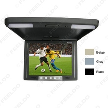 10.4 Inch Roof Mounted TFT LCD Monitor 2-Way Video Input Flip Down Car Monitor 3-Color For Choice #FD-1283(China (Mainland))