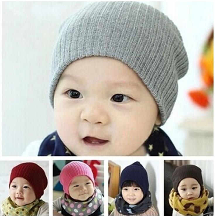 1pc New 2016 Boy Girl Infant Baby Unisex Crochet Hat Cap Beanie Headwear Bonnet Girls Toddler Hats Caps Clothing Accessories(China (Mainland))