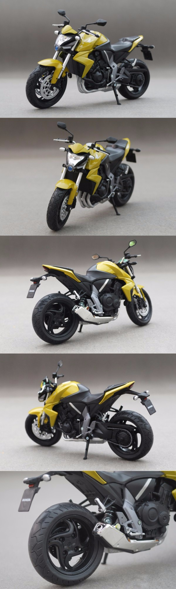 Motorcycle Models CB1000R Yellow 1:12 scale Alloy metal diecast models motor bike miniature race Toy For Gift Collection