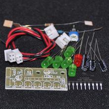 5 ШТ. KA2284 Индикатор Уровня Мощности Люкс Trousse Батареи Pro Audio Индикации Уровня DIY Электронный Комплект 5 мм КРАСНЫЙ Зеленый LED 3.5-12 В(China (Mainland))