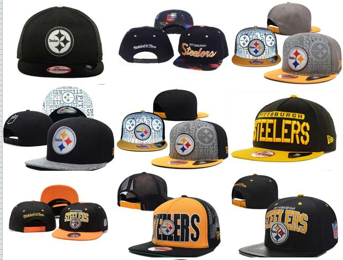 2016 NO-6 NEW arrive Free fast shipping Best Quality 21 Style Pittsburgh Steelers Snapbacks cap gorras bones hats(China (Mainland))