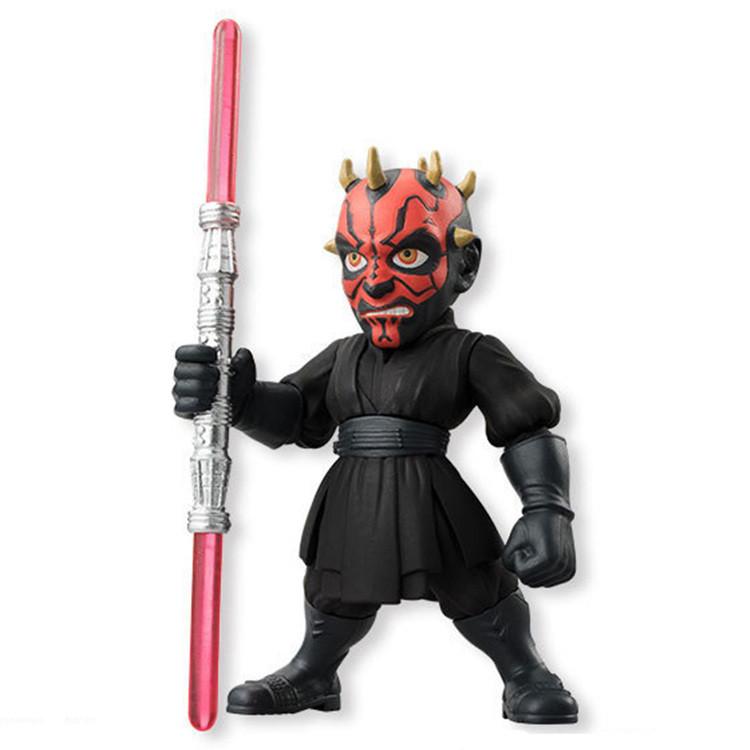 4pcs lot Star Wars The Force Awakens Darth Vader Anakin Skywalker PVC Model Action Figure dark