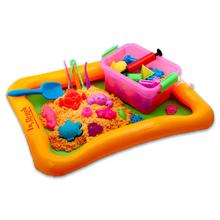 4-8pcs/lot Play Dough  Plasticine Mold Tools Set Kit Sand Begin Kids Baby Ability Playdough Polymer Clay Beach Toy Traning Toy(China (Mainland))