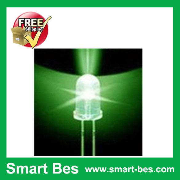 Smart Bes !~50 5MM LED Green Superbright Water Clear Round Light - Shenzhen S-Mart Electronics Co., Ltd~ 24hour fast shipping~ store
