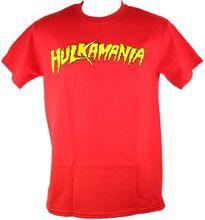 Hulk Hogan Hulkamania Mens T-shirt Wrestling Classic Adult Cotton Man T Shirts Clothing Funny Tops Tee Casual O Neck Euro Size(China (Mainland))