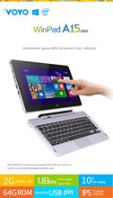 Original 11 6 inch VOYO A15 Intel Z3735 Quad Core Tablet For Windows 8 1 IPS