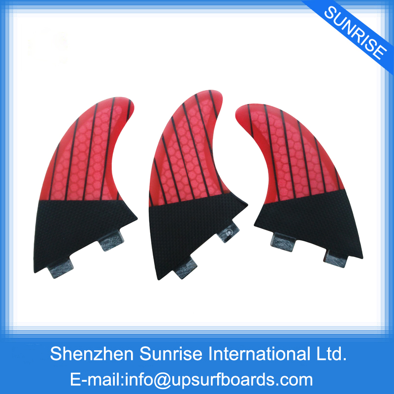 Carbon Fins G5 Size Surfboard FCS Fins Hot Sale China Surfboard Fins(China (Mainland))