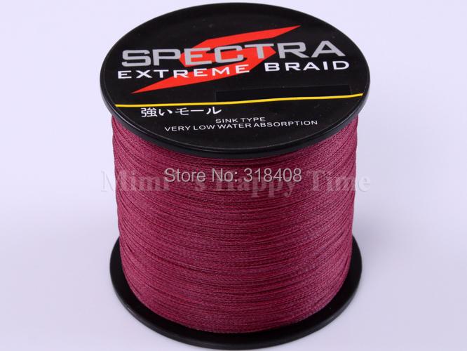 100% Super Strong Spectra PE Dyneema Braided Fishing Line Purple 70LB 500M 0.44mm 547 YARD(China (Mainland))