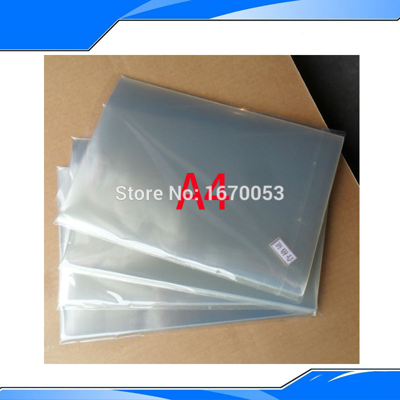 Free shipping Transparence film 210cmx297cm for 10 sheets High Quality for Laser and inkjet Printers(China (Mainland))