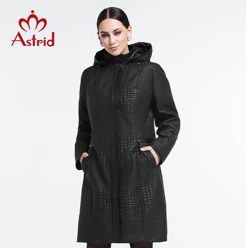Фотография Astrid New 2015 High Quality Warm Women Winter Jacket Solid Color Coat Fashion Long Slim Wadded Thick Parka Female AM-1500
