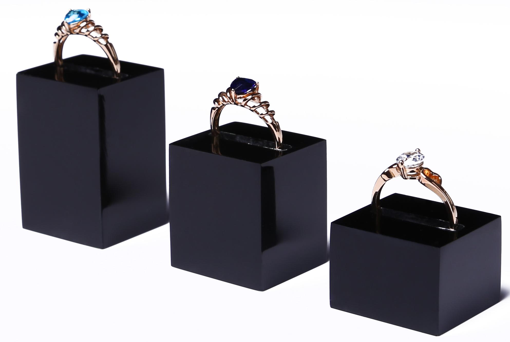 aliexpress buy lot of 3 acrylic ring display holder
