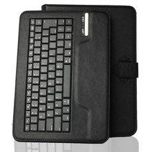"Universal 9.7"" 10"" Tablet Detachable Wireless Bluetooth Keyboard black Case For Apple iPad 2 3 4 etc + Stylus Pen(China (Mainland))"