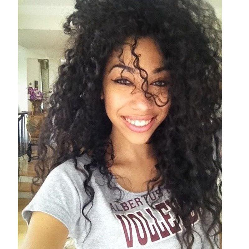 8A malaysian curly hair kinky curly virgin hair 4 piece lot human hair extensions top quality black malaysian kinky curly hair(China (Mainland))