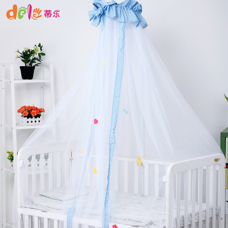 Baby bed mosquito net baby bed mosquito net infant bb crib for Baby crib net
