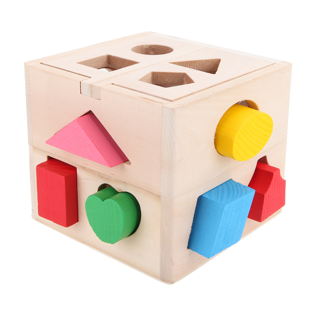 Cheap Box Patchwork, Buy Quality Box Black Directly From China Toy Box Free  Shipping Suppliers: 13 Holes Wooden Toys Intelligence Box For Shape Sorter  ...