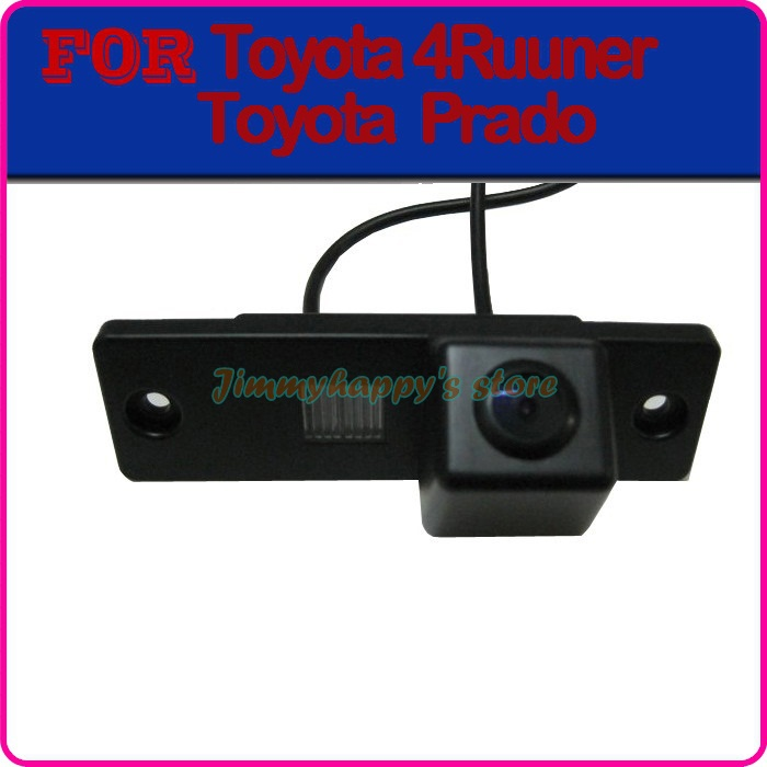 Color CCD HD car rear view camera parking rear view system for TOYOTA 4Runner LAND CRUISER PRADO 2010 night vision(China (Mainland))