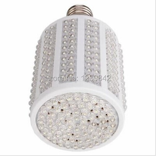 New LED Corn Light Bulb E27 18W 330 LED 1600LM 7000-8000k Pure White Light(China (Mainland))