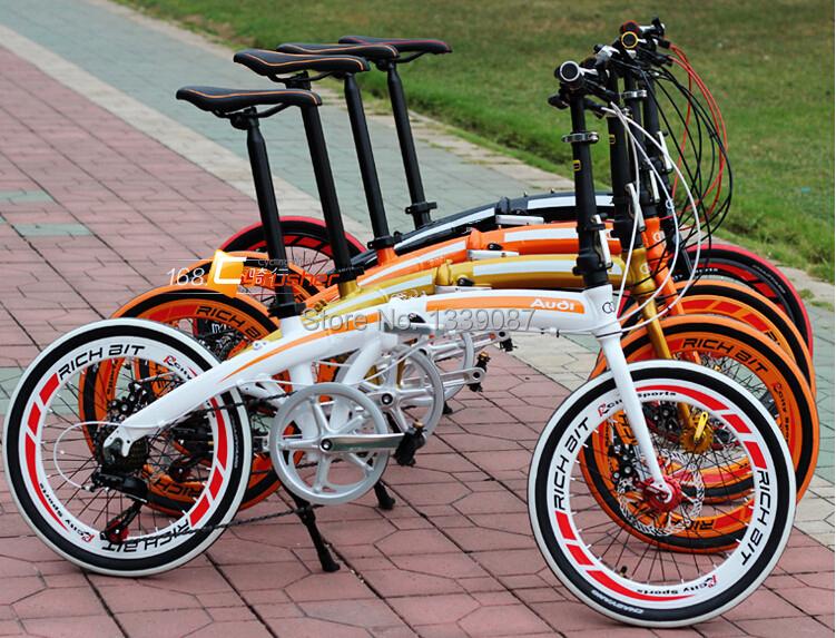 Cyrusher 20 in Mini Folding Bike Bicycle Shiman0 7 Gears City Tour Bike for XMAS Presents<br><br>Aliexpress