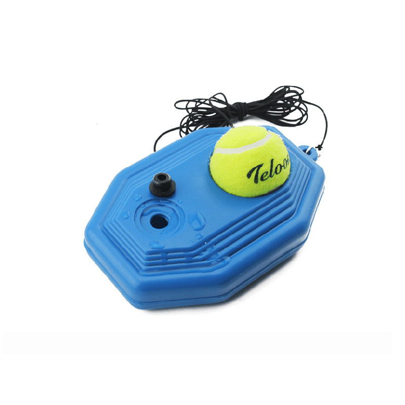 Hot Selling Tennis Trainning Practice Ball Base With Rubber Band Practice Any Place A1 C96(China (Mainland))