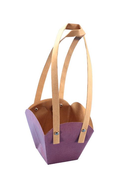 Light purple Kraft Gift Packaging Bag gift packaging paper bag succulents bag waterproof bonsai bag free shipping(China (Mainland))