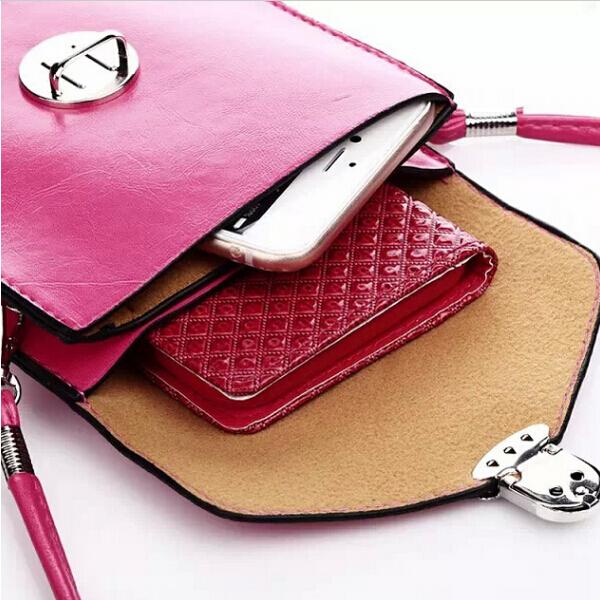 Fashion phone case quilted women handbag multi-layer bags purse mini shoulder bag women messenger bags for Multi Phone Model(China (Mainland))