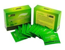 Promotional Green coffee fat burning slimming green drink coffee 18 package weight loss thin clearance specials