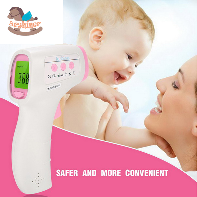 Arshiner Digital FeverWatch Non Contract Infrared Body Forehead and Ear Thermometer with LCD Display for all ages<br><br>Aliexpress