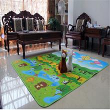 Trasporto libero bambino giocare mat crawling tappeto impermeabile mat giochi all'aperto pad schiuma bambini tappeto cartoon bambini mats all'ingrosso(China (Mainland))