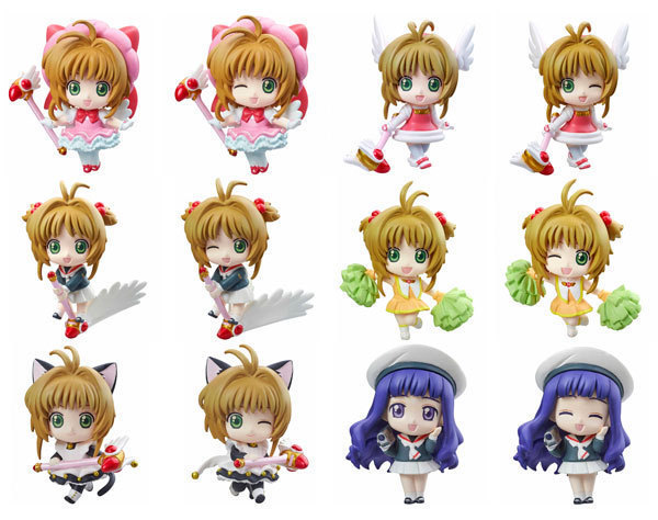 16 style 1pc Cute Nendoroid Card Captor Cardcaptor Sakura 7cm Boxed PVC Action Figure Set Model Collection Toy Gif - UFO Technology Co., Ltd store