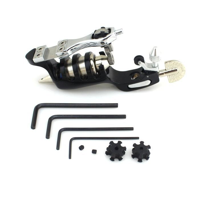 Free shipping sunskin tattoo machine rotary tattoo gun for Tattoo gun prices