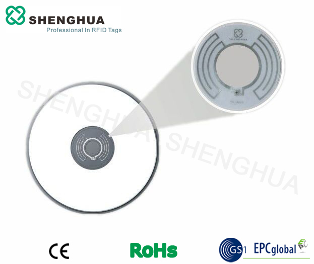 UHF RFID Disc Tags Labels Stickers for CD VCD DVD Management With Alien H3(China (Mainland))