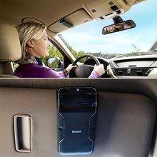 Hot Sales Handsfree Bluetooth Car Kit Hands Free Bluetooth Speaker Phone Fixed On Sun Visor Clip +Car charger HA10712(China (Mainland))