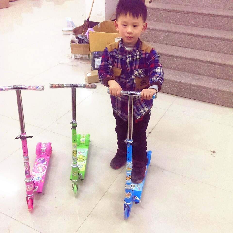 children kick scooters kid foot scooters children toy scoorter(China (Mainland))
