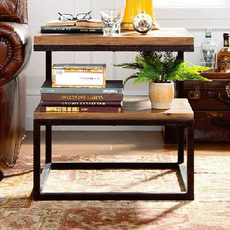 Vintage Casual Coffee Tables: Factory Direct American Country To Industrial Wind Pine