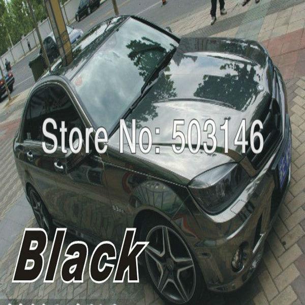 High quality 1.52x30m  PVC chrome vinyl wrap film color change car sticker