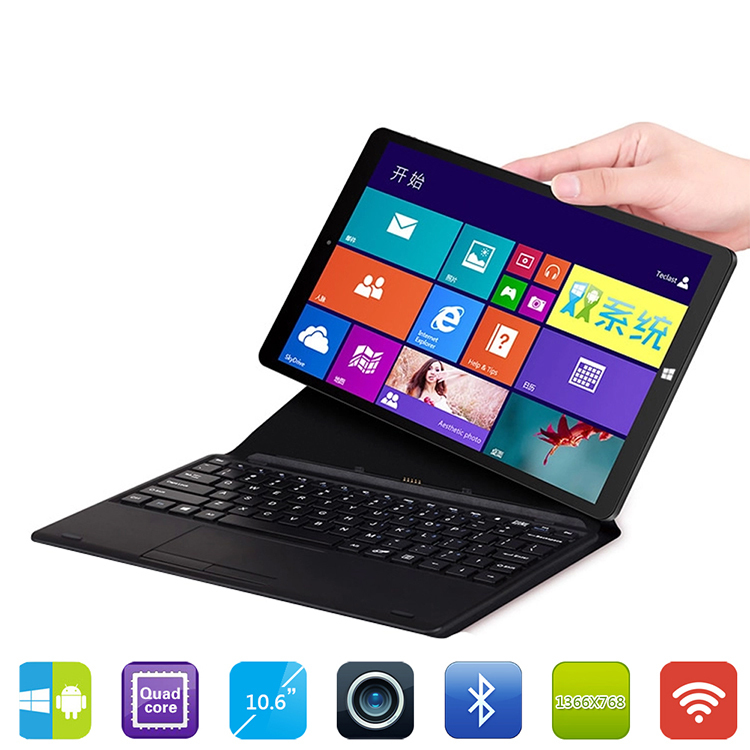 Upgrade 10 6 Chuwi Vi10 Quad Core 2GB 32 64GB Dual OS tablet pc Windows8 1