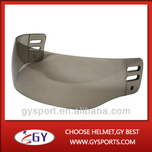 Free shipping CE approved high quality hockey visor with PC for hot sale