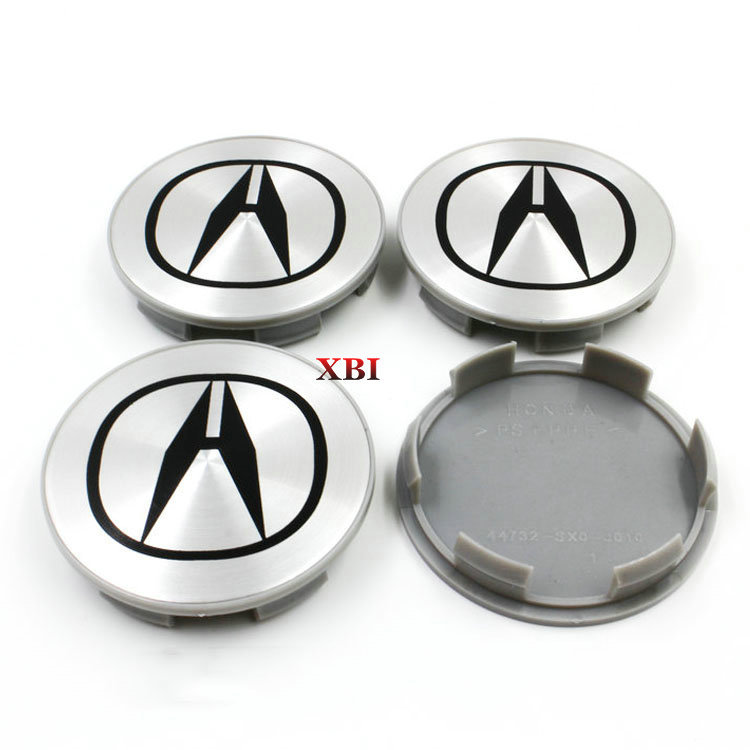 4PCS 69mm Wheel Center Caps Emblem For Honda Auto Hubcaps Fit Acura Wheel Cover Civic Accord CPV Modified Wheel Center Cap(China (Mainland))