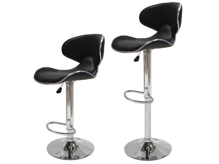 Pu Leather Modern Adjustable Bar Stool Chair Barstool 2