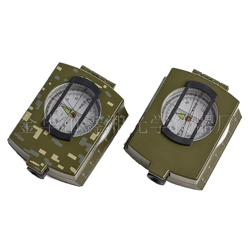 Portable Moutain-climbing Compass Professional Shockproof Hiking & Camping mini Compass Outdoor Night Version Compass 85x63x30mm(China (Mainland))