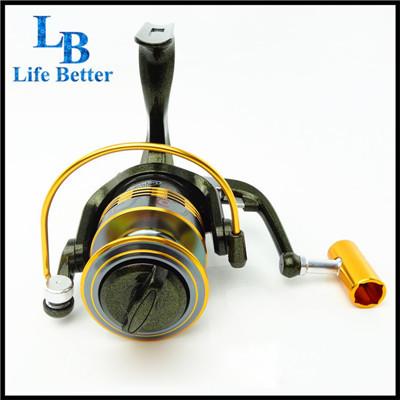 LB Brand 10 BB carretilha pesca 1000-7000 Series molinete pesca swap handle fishing tackle light spinning reel YXL-08(China (Mainland))