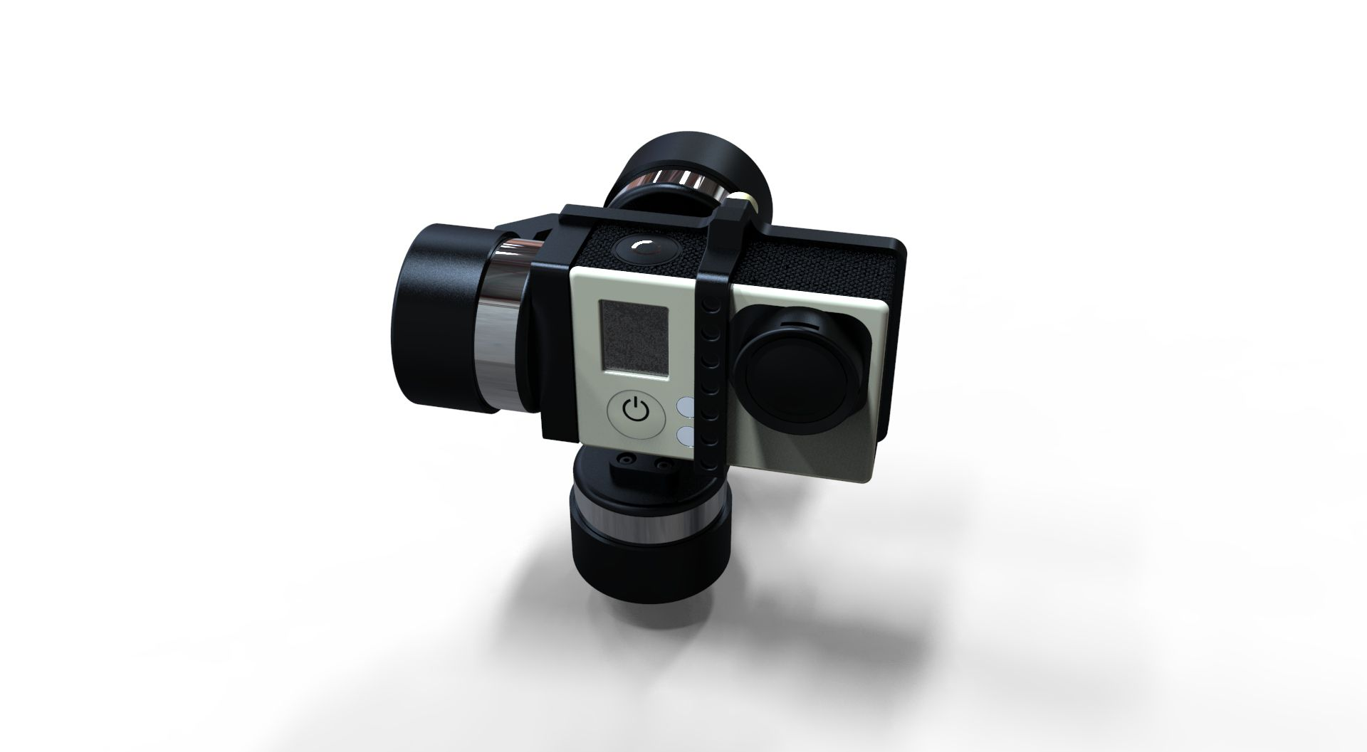 F16010 Zhiyun Z1-Rider 3-Axis Gimbal Portable Handheld Wearable Brushless Stabilizer As FY-G4 for Gopro Hero3 3+ 4 SJ4000 Camera<br><br>Aliexpress