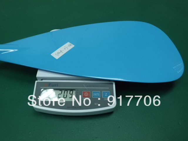 Blue fiberglass Stand up paddle