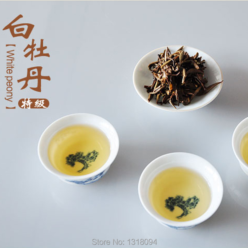 White Tea White Peony 100g per bag Premium Organic Bai Mu Dan White mudan lose weight