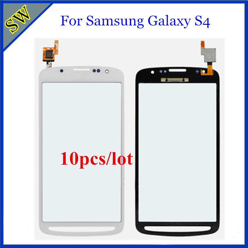 10pcs/lot Touch Screen Digitizer for Samsung Galaxy S4 Active i9295 Digitizer Touch Screen Glass for S4 i9295 100% Tested(China (Mainland))