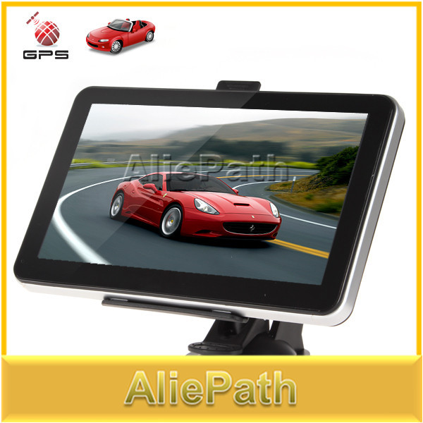 2ps Professional 7 Inch Portable Auto Car GPS Navigation Navigator System with FM Radio MP3 MP4 USB SD Built in 4GB Memory(China (Mainland))